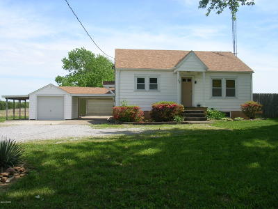 Hardin County Single Family Home Active Contingent: 180 Il Rte 34 N