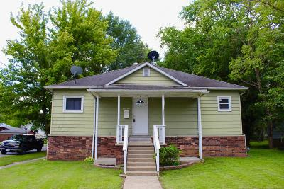 West Frankfort Single Family Home For Sale: 410 E 4th Street
