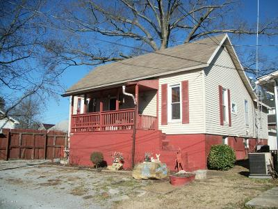 Harrisburg IL Single Family Home For Sale: $24,900