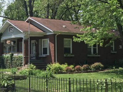 Murphysboro Single Family Home For Sale: 1302 Maple