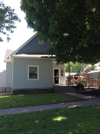 Anna IL Single Family Home For Sale: $67,500