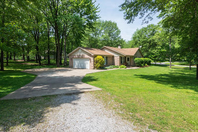 Benton Single Family Home For Sale: 10997 E Old Hickory Court