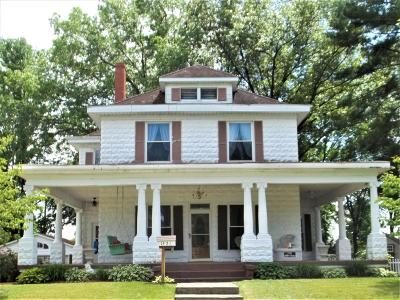 Eldorado IL Single Family Home For Sale: $99,500