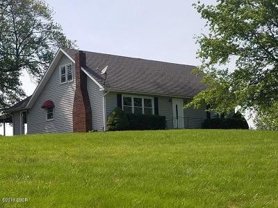 Mt. Vernon Single Family Home For Sale: 8121 N Spring Garden Lane