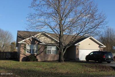 Herrin Single Family Home For Sale: 3024 Hickory Ridge Drive