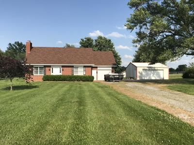 Marion Single Family Home For Sale: 15402 Crabtree School Road