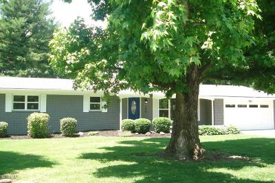 Marion Single Family Home Active Contingent: 206 Westernaire Drive