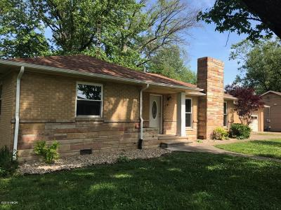 Benton Single Family Home For Sale: 620 Madison Street