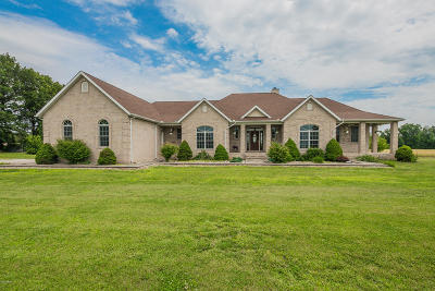 Franklin County Single Family Home For Sale: 15948 Circle M Road