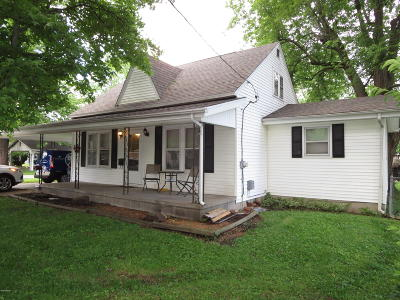 Marion Single Family Home For Sale: 601 S Aikman Street