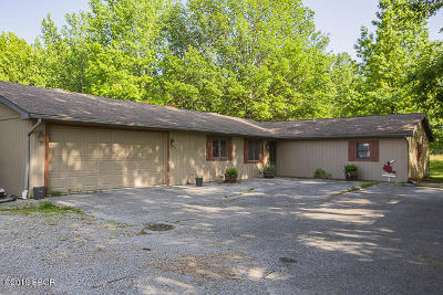Murphysboro Single Family Home Active Contingent: 148 Hurricane Road