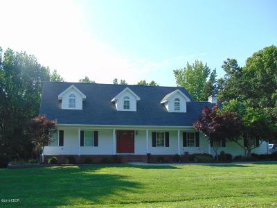 Murphysboro Single Family Home For Sale: 473 Logan Run Road Road