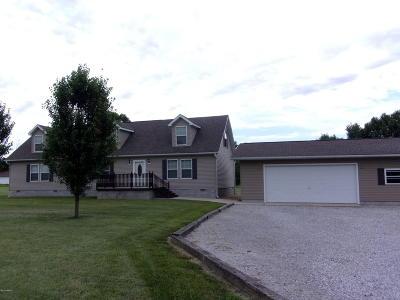 Mt. Vernon Single Family Home For Sale: 10526 N Spring Garden Lane