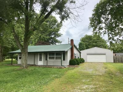 Elkville IL Single Family Home For Sale: $77,900