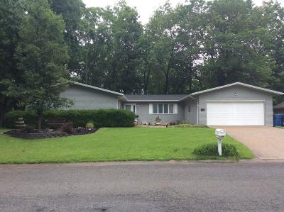 Mt. Vernon Single Family Home For Sale: 4214 Fox Creek Road