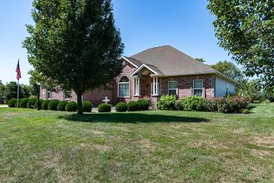 Carterville Single Family Home Active Contingent: 301 Twin Lakes Road