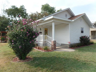 Benton Single Family Home For Sale: 1101 N McLeansboro Street