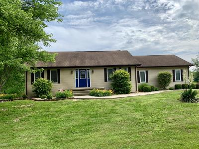 Marion Single Family Home Active Contingent: 5847 Saline River Road