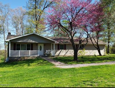 Anna Single Family Home Active Contingent: 5285 Lick Creek Road