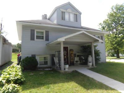 West Frankfort Single Family Home For Sale: 1718 E St. Louis Street