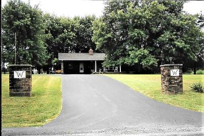 Creal Springs Single Family Home For Sale: 571 Creal Springs Road
