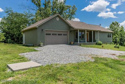 Marion Single Family Home For Sale: 9847 Decatur Road