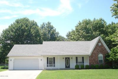 Herrin Single Family Home For Sale: 3021 Willow Branch Lane