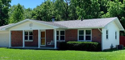 Murphysboro Single Family Home For Sale: 1243 N 16th Street