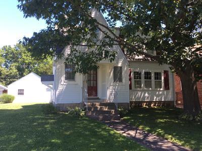 Mt. Vernon Single Family Home For Sale: 822 Oakland Avenue