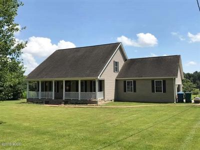Massac County Single Family Home For Sale: 8722 Hamletsburg Road