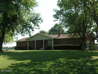 Creal Springs Single Family Home For Sale: 8680 Route 166