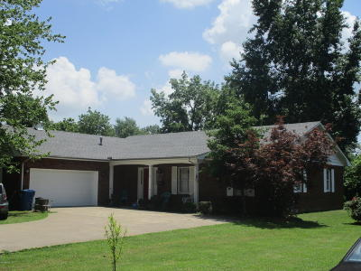 Benton Single Family Home For Sale: 410 W 6th Street