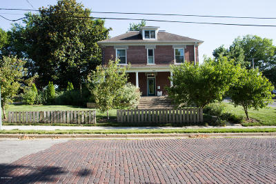 Murphysboro Single Family Home Active Contingent: 1015 Hanson Street