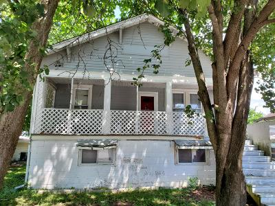 Harrisburg IL Single Family Home For Sale: $41,500