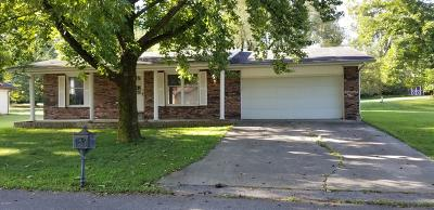 Mt. Vernon Single Family Home For Sale: 1715 Briarwood Drive