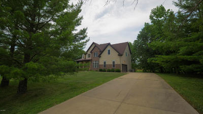 Carbondale Single Family Home For Sale: 156 Lake Indian Hills Drive