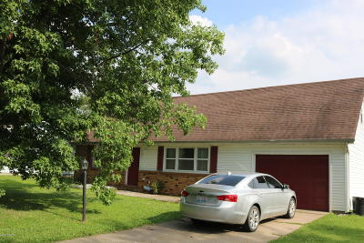 Marion IL Single Family Home For Sale: $89,900