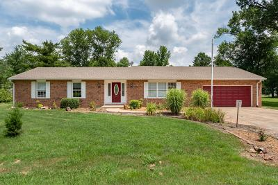 Marion IL Single Family Home Active Contingent: $132,000