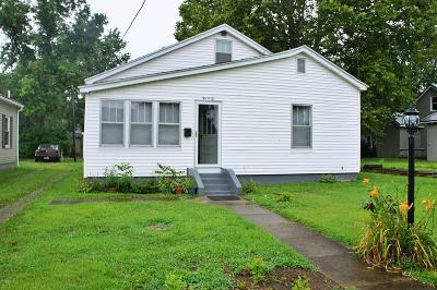 Metropolis IL Single Family Home For Sale: $47,900