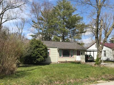Carbondale Single Family Home For Sale: 912 W Linden Street