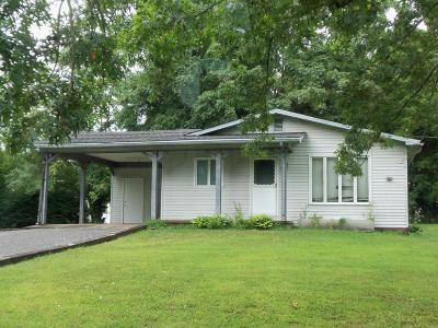 Benton Single Family Home For Sale: 707 Carbon Street