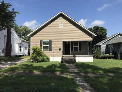 West Frankfort Single Family Home For Sale: 206 N Gardner Street