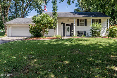 Carbondale Single Family Home For Sale: 1027 W Willow Street