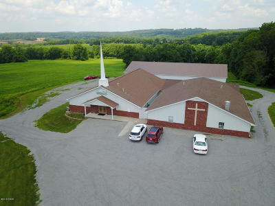 Johnson County Commercial For Sale: 495 Pleasant Ridge Road