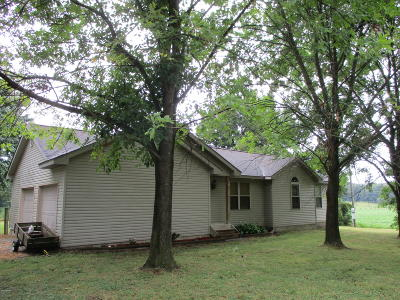 West Frankfort Single Family Home Active Contingent: 843 Freeman Spur Road