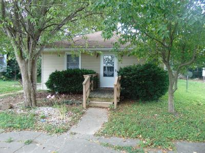Murphysboro Single Family Home For Sale: 525 North St