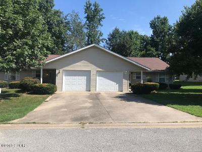 Murphysboro Multi Family Home For Sale: 1406 Roberta Drive