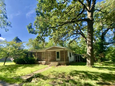 Benton Single Family Home For Sale: 707 Forrest Street