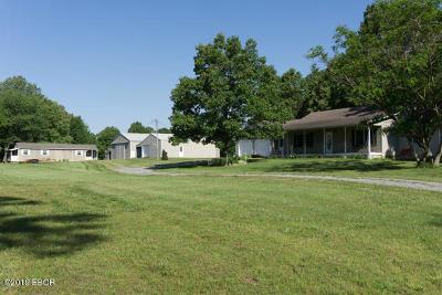 Pittsburg Single Family Home For Sale: 20972 Galatia Post Road