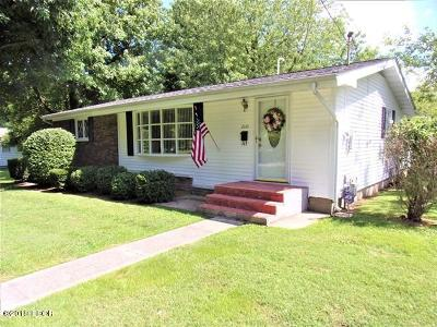 West Frankfort Single Family Home For Sale: 2110 E Clark Street